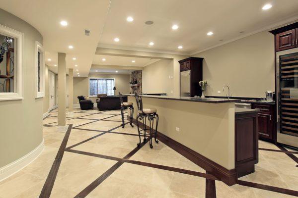 Basement renovation - Walker General Contractors