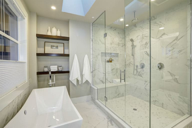 bathroom renovations langley