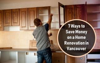 7 ways to save money home renovation