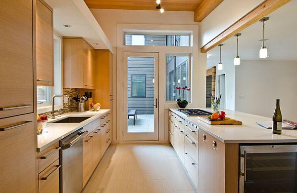 Corridor Style Kitchen Layout
